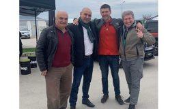 Кметът на община Ветрино д-р Димитър Димитров присъства на откриването на конкурс за брандирани автомобили на историческа тематика