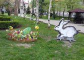 Шарени яйца грейнаха в центъра на Белослав