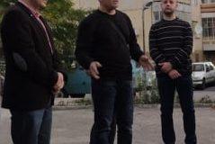 """Зам. кмета инж. Диан Парушев: Лично се ангажирам да реша проблема с осветлението в района на двете стълбища, които са заключени между ЖП линията и ул.""""Цоню Тодоров"""""""