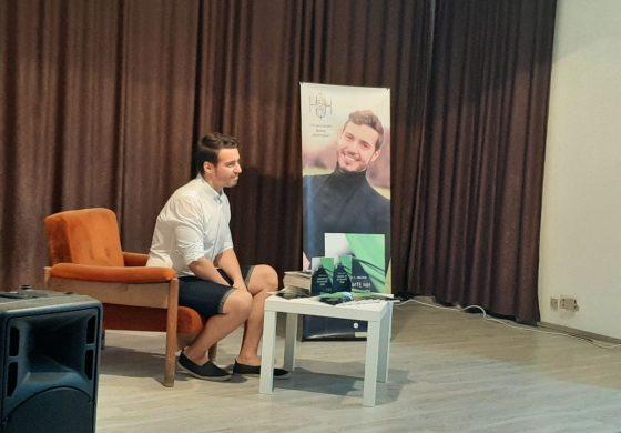 Георги А. Иванов представи своя книга и песен към нея